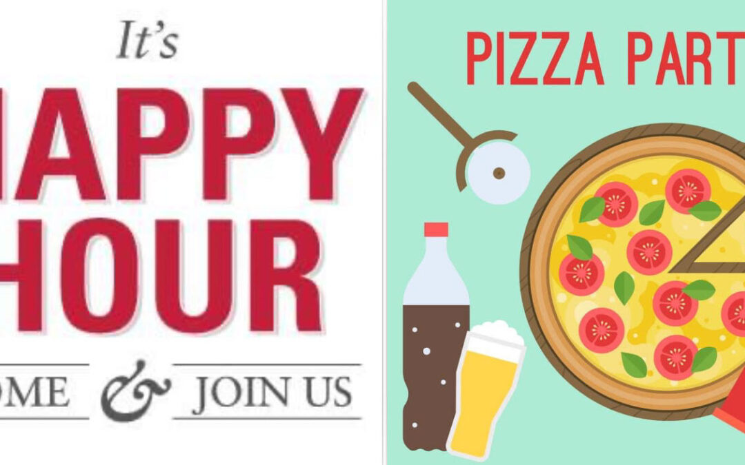 pizza party happy hour